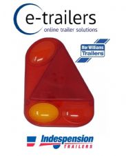 Genuine Radex 2900 Trailer Rear Light Lens RIGHT - Ifor Williams Indespension
